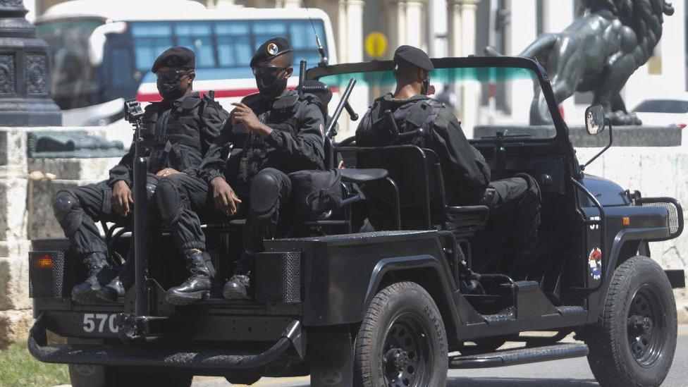 Crne beretke su ozloglašena specijalni policijska jedinica