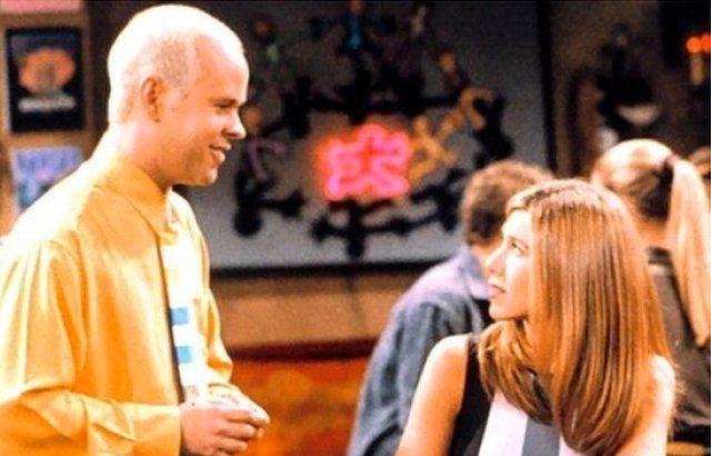 Gunther y Rachel en Central Perk