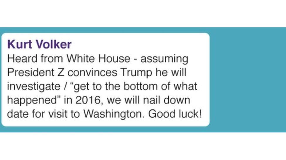 رسائل مبعوثي ترامب