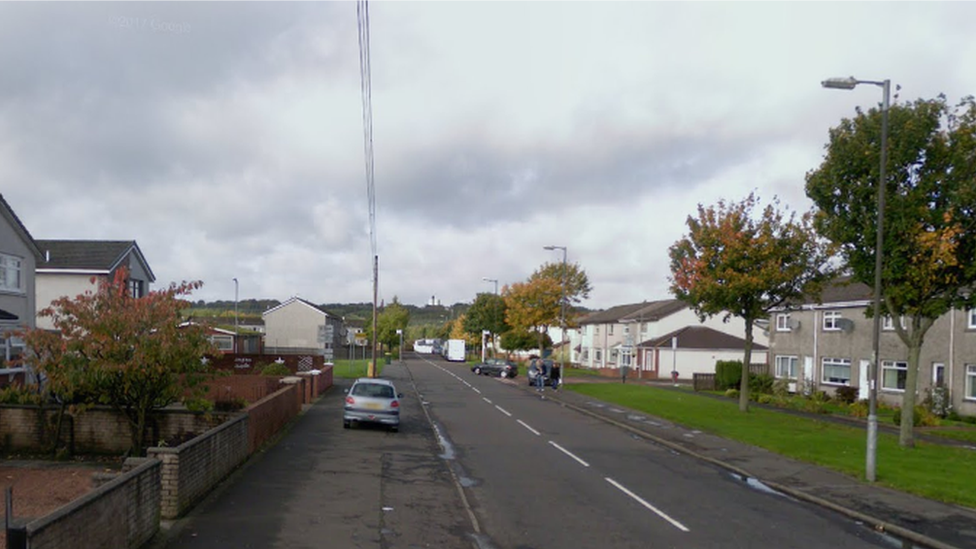 Couple in knife attack as they walked home in Shotts