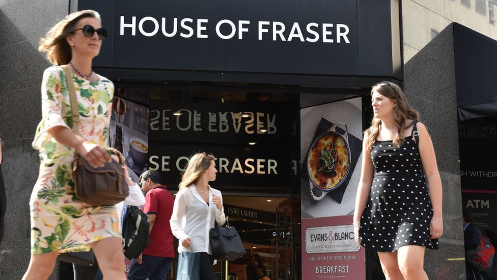 Four more House of Fraser stores saved