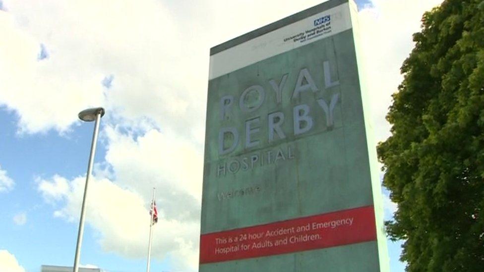 Derby's Royal Hospital