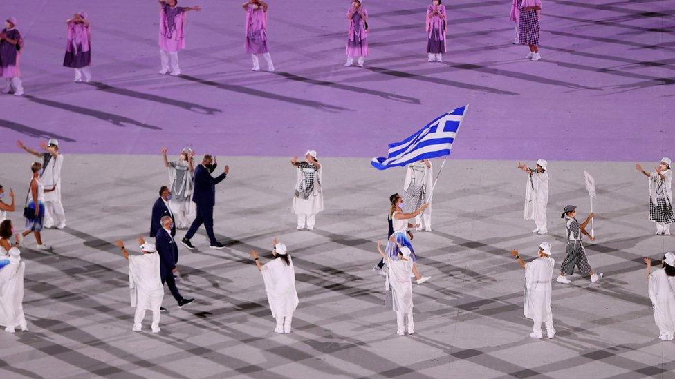 Flag Grecii