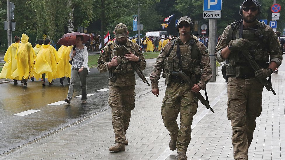 Polish anti-terror police