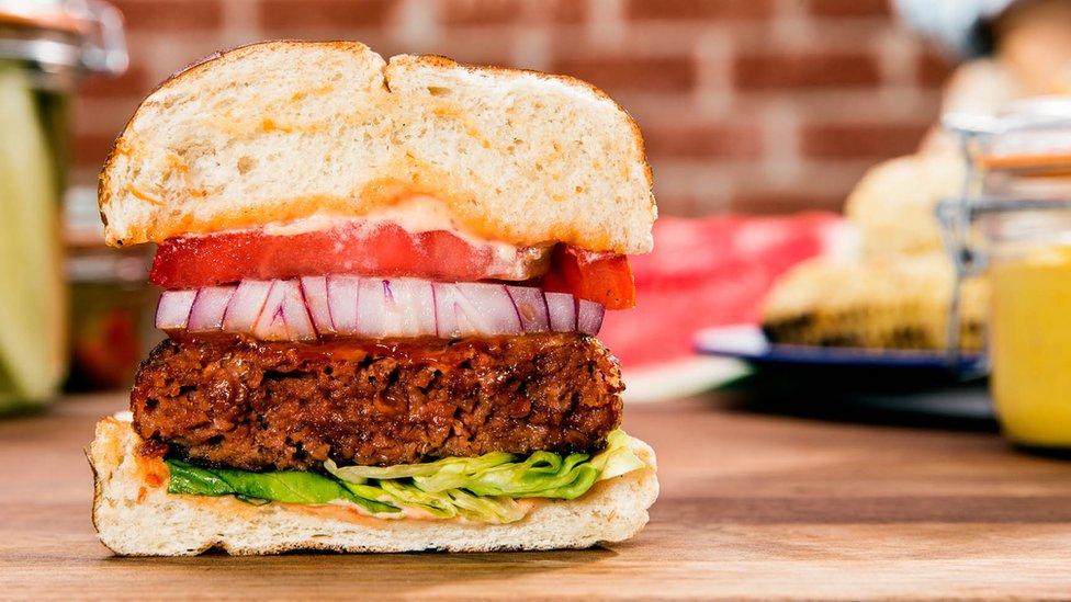 Hamburguesa Beyond Meat
