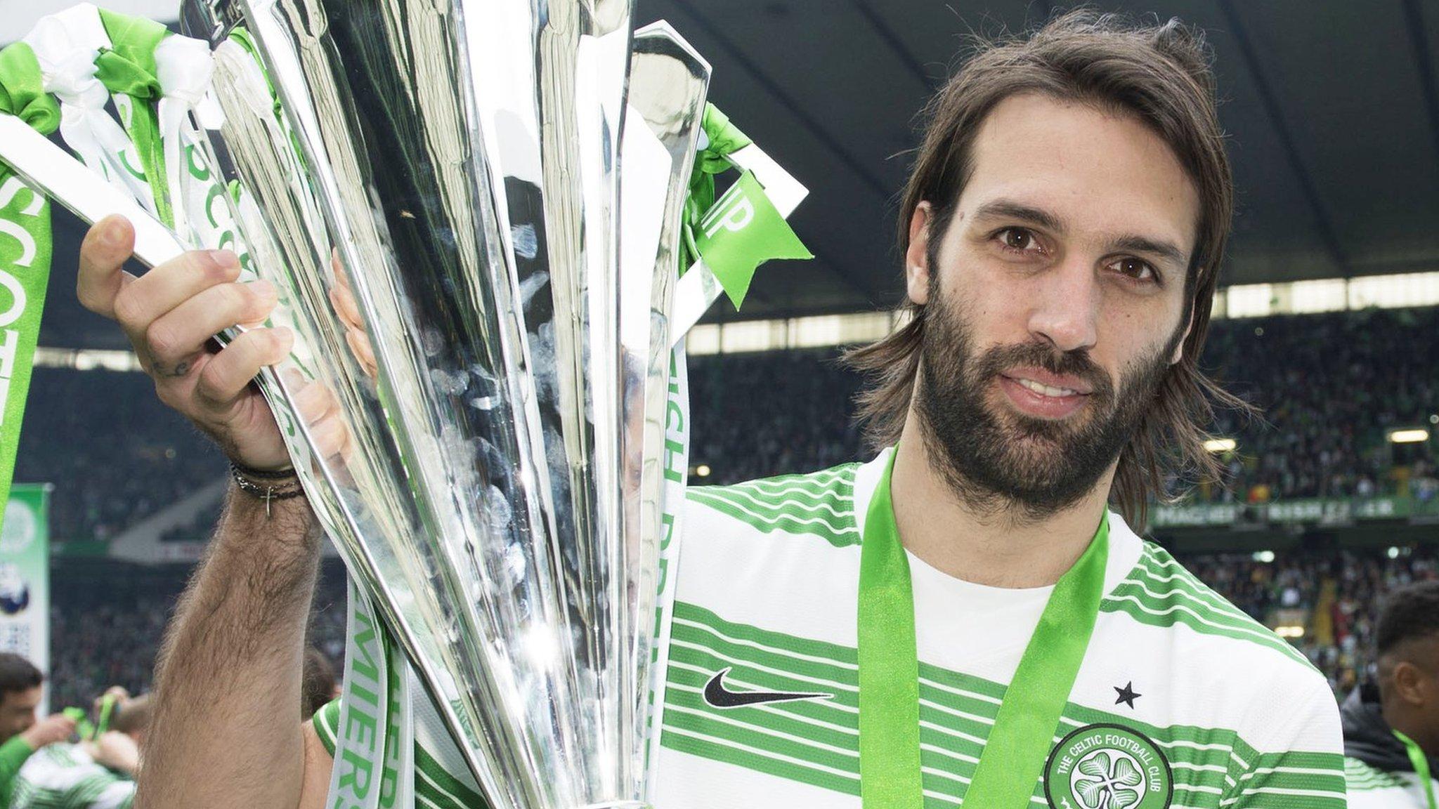 Georgios Samaras: Former Celtic striker retires after 16-year career