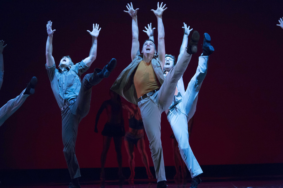A production of West Side Story in Germany