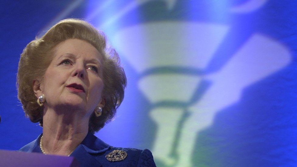 Margaret Thatcher: Ex-PM described euro as a 'rush of blood to the head' thumbnail