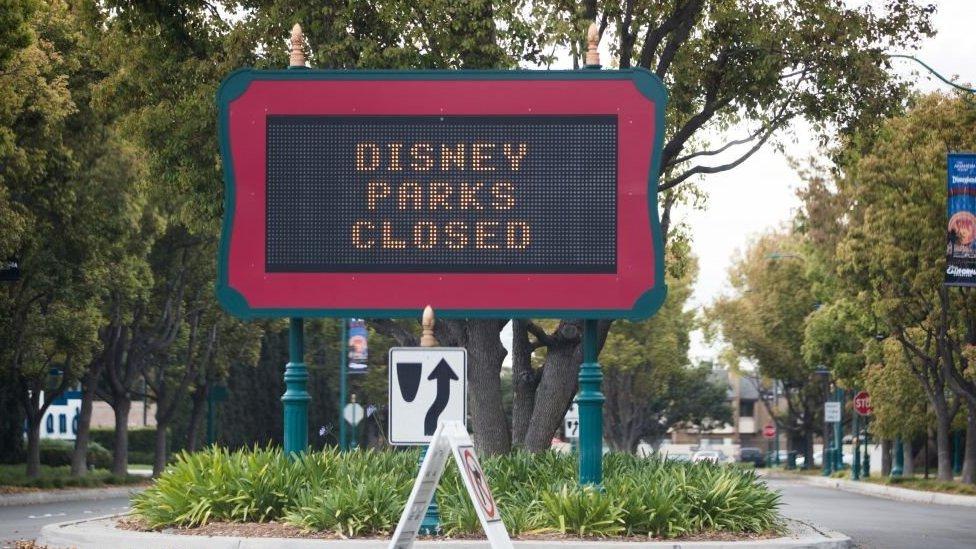 Parque de Disney en Florida cerrado