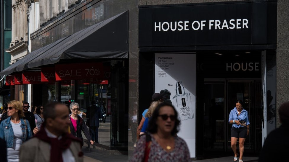 Mike Ashley told to pay House of Fraser suppliers in full