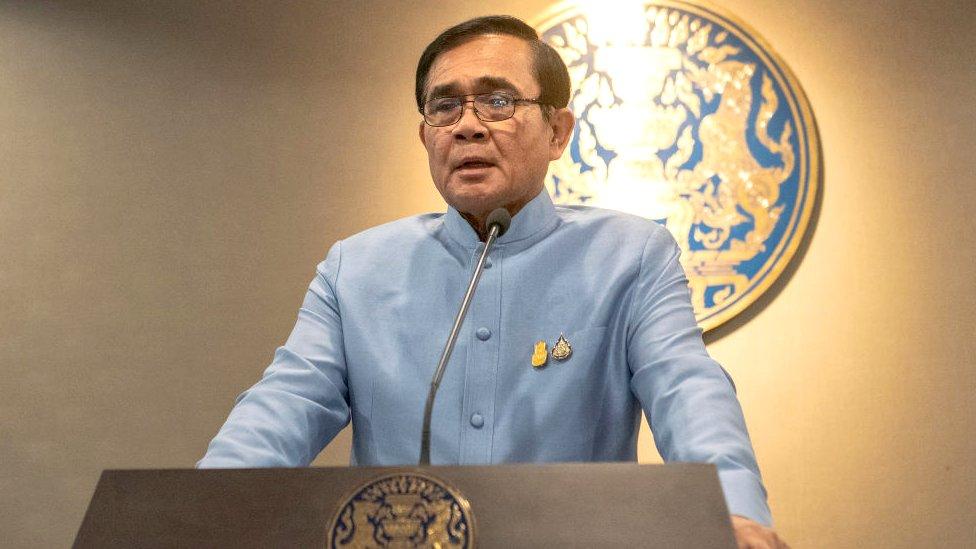 Thailand's Prime Minister, General Prayuth Chan-ocha,