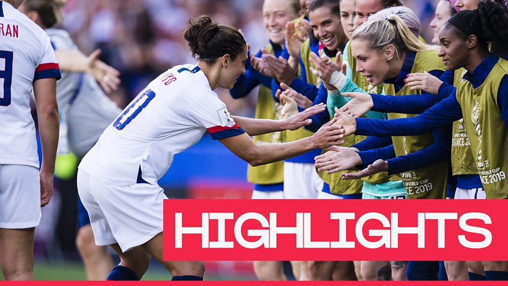 Highlights: USA beat Chile 3-0 to reach last 16