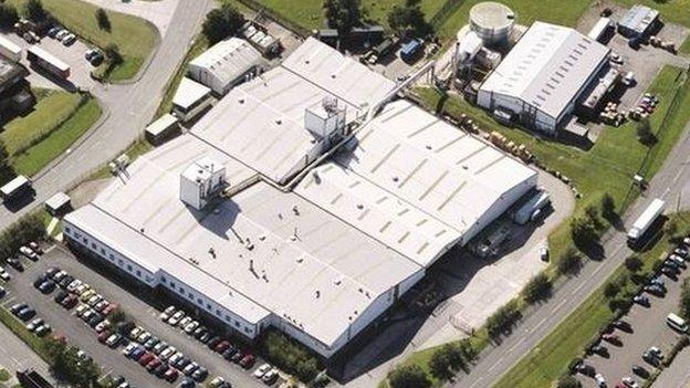 Cytec Industries Inc site in Wrexham