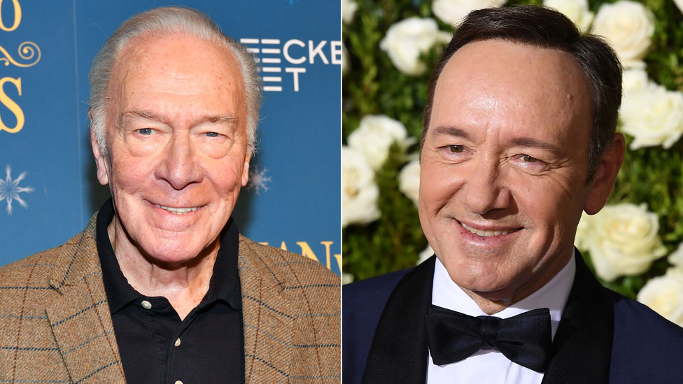 Christopher Plummer and Kevin Spacey