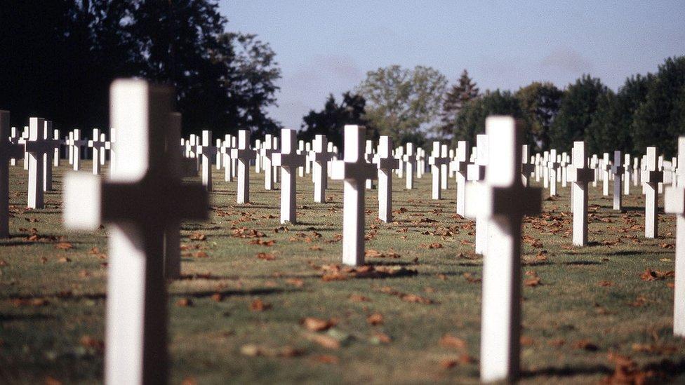 Aise Marne cemetery