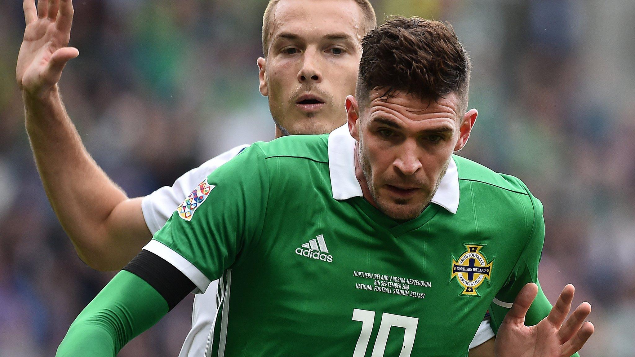 Kyle Lafferty: Irish FA blocks Rangers striker from playing against Hamilton