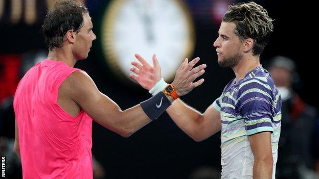 Tim i Rafael Nadal na Rolan Garosu