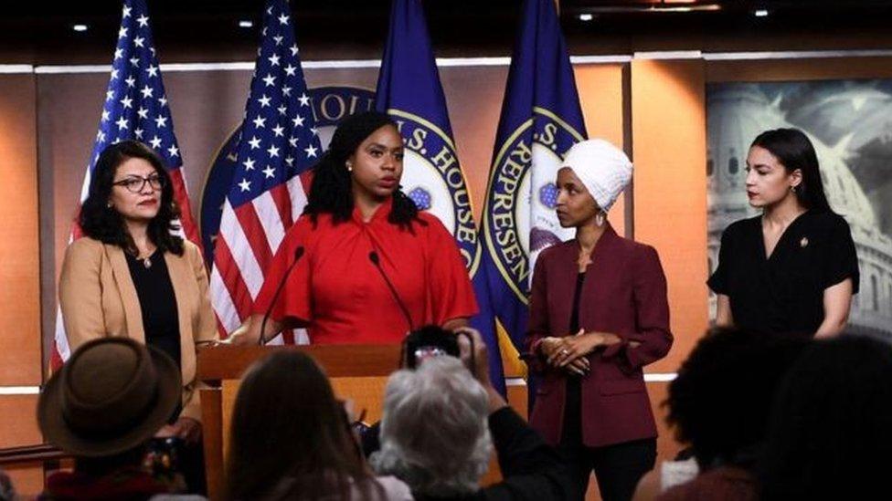 عضوات الكونغرس