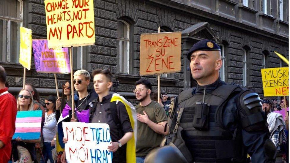 Trans inter marš, Zagreb, 2019.