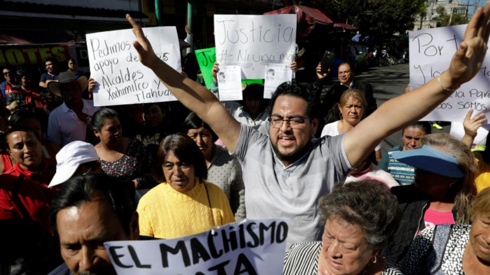 Fátima protesta