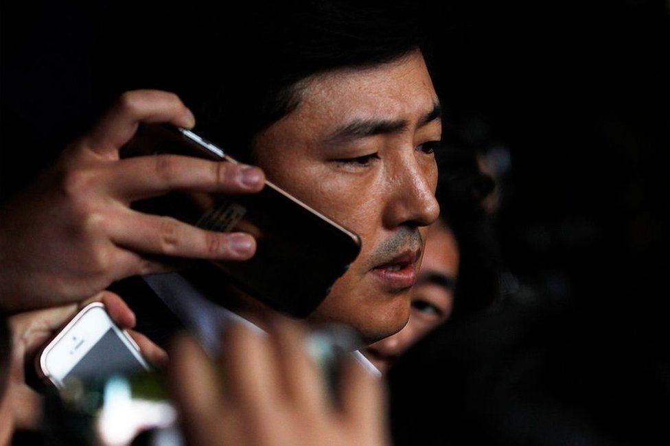 Ko Young-tae, quien ha estado vinculado directamente con la confidente de la presidente surcoreana.