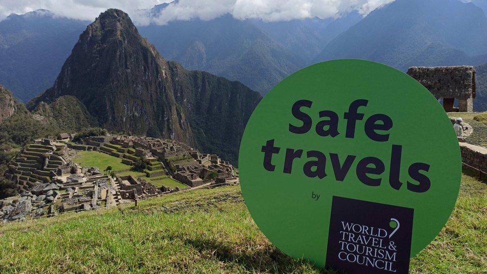 Machu Picchu, Perú, con el Sello de Viajes Seguros del WTTC