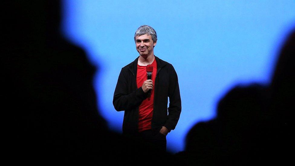 Es fácil ver a Page en eventos de robótica y en charlas TED.