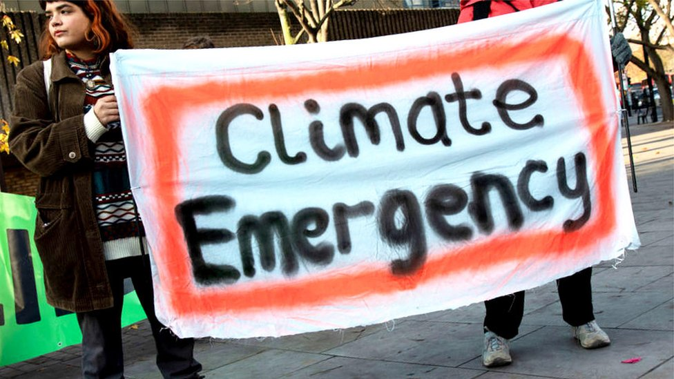 Climate strike: What is a climate emergency?