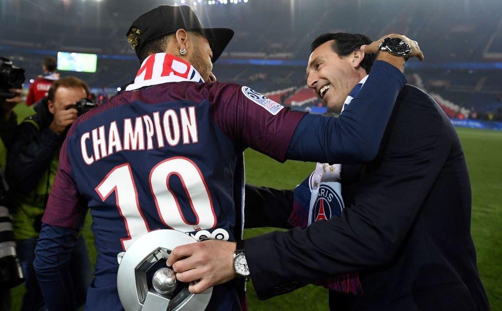 La llegada de Neymar no supuso una bendición para Emery, quien tuvo problemas para controlar los egos en el vestuario del PSG.