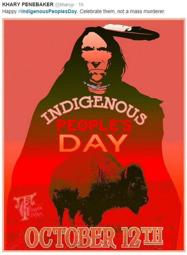 Indigenous People's Day poster