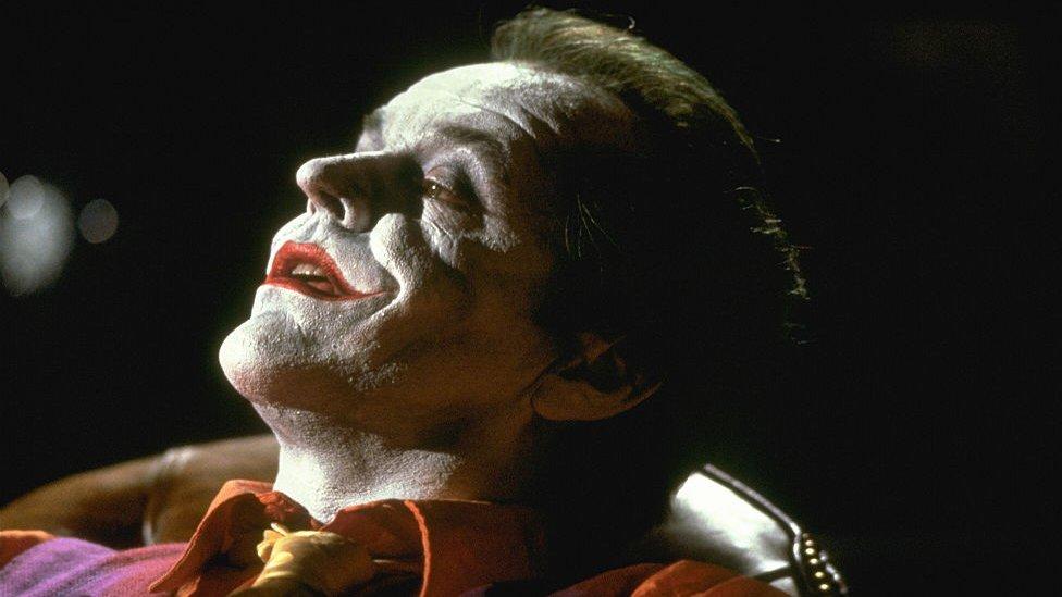 Jack Nicholson como Joker