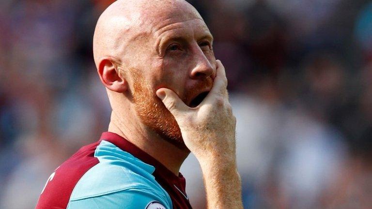 James Collins: West Ham defender set to leave club