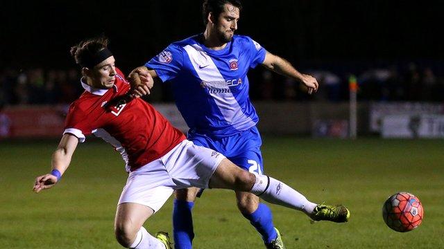 Salford City 1-1 Hartlepool United