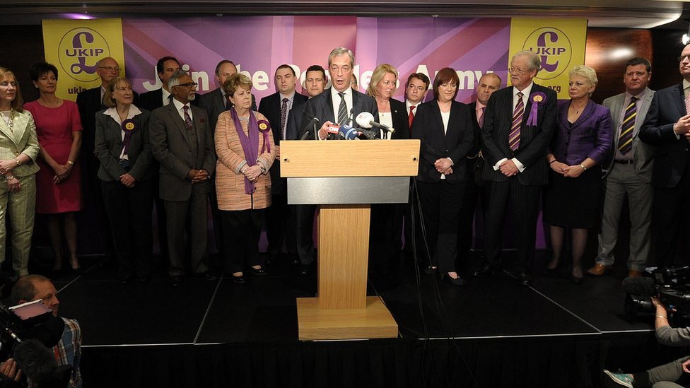 UKIP MEPs in 2014
