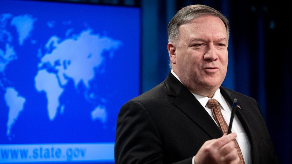 Pompeo: US to lift restrictions on contacts with Taiwan thumbnail