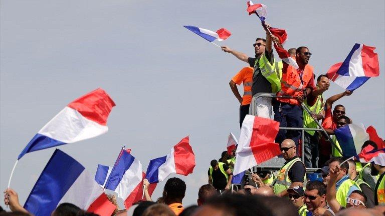 Francuska i Hrvatska dočekale fudbalske heroje