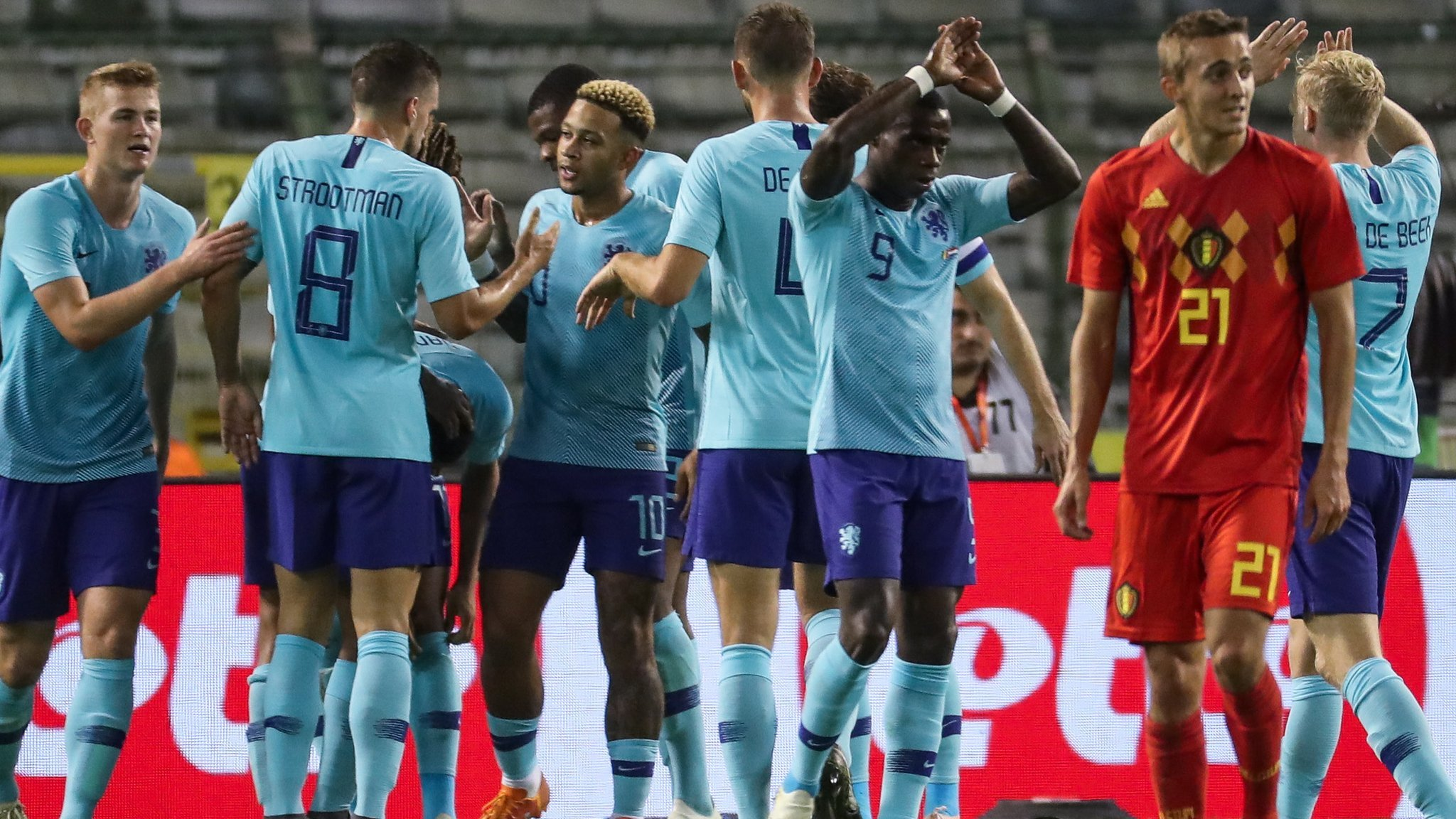 Belgium 1-1 Netherlands: World number one side held in friendly