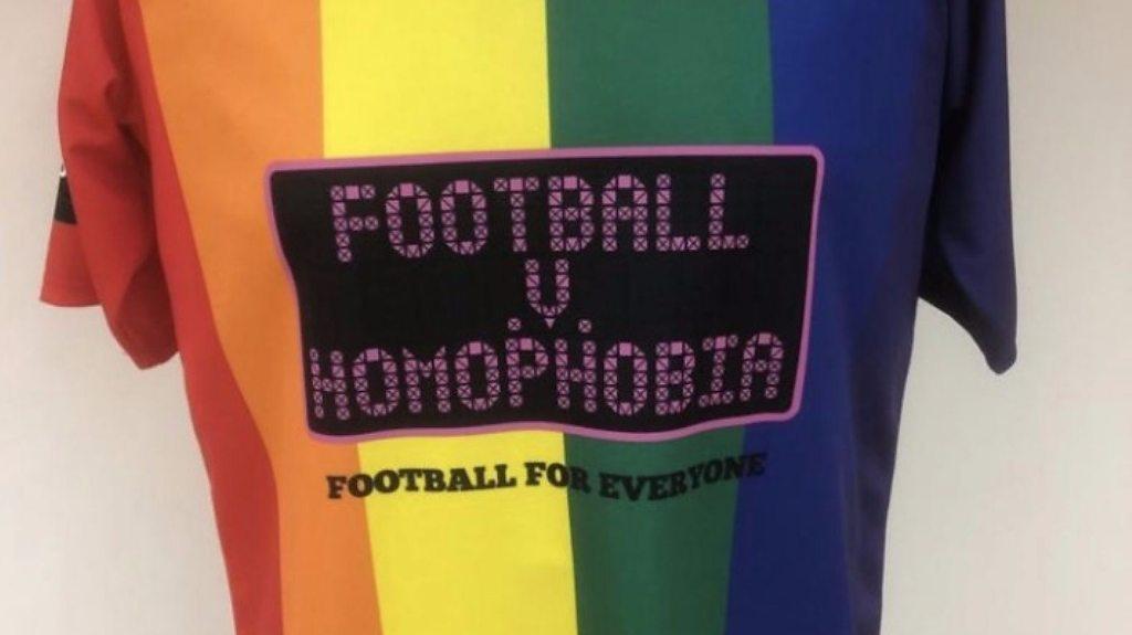 'It's not subtle, it's loud' - Altrincham chairman on LGBT+ rainbow shirts