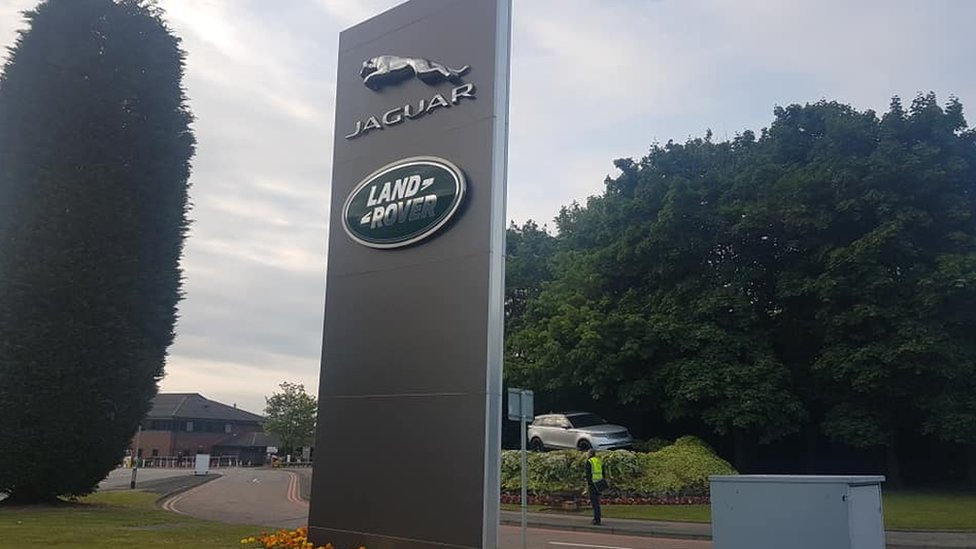 JLR: Solihull workers react to Land Rover production move