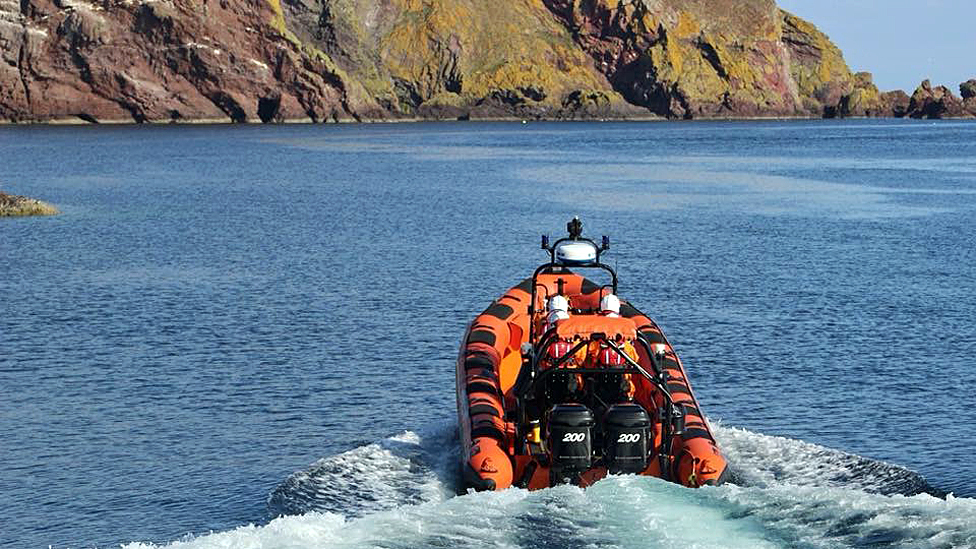 Man rescued following cliff fall near St Abbs