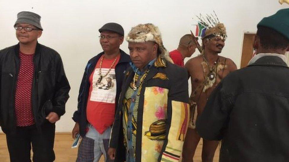 Members of the Khoisan Revolution