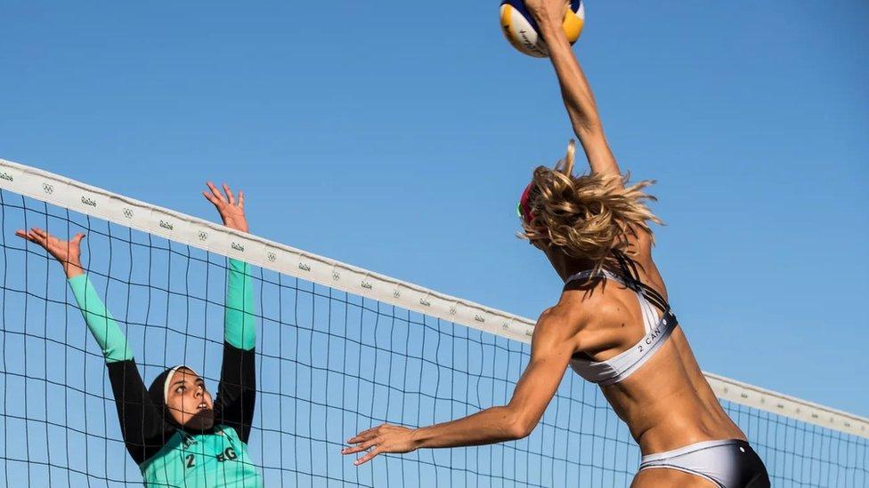 Competence de voleibol