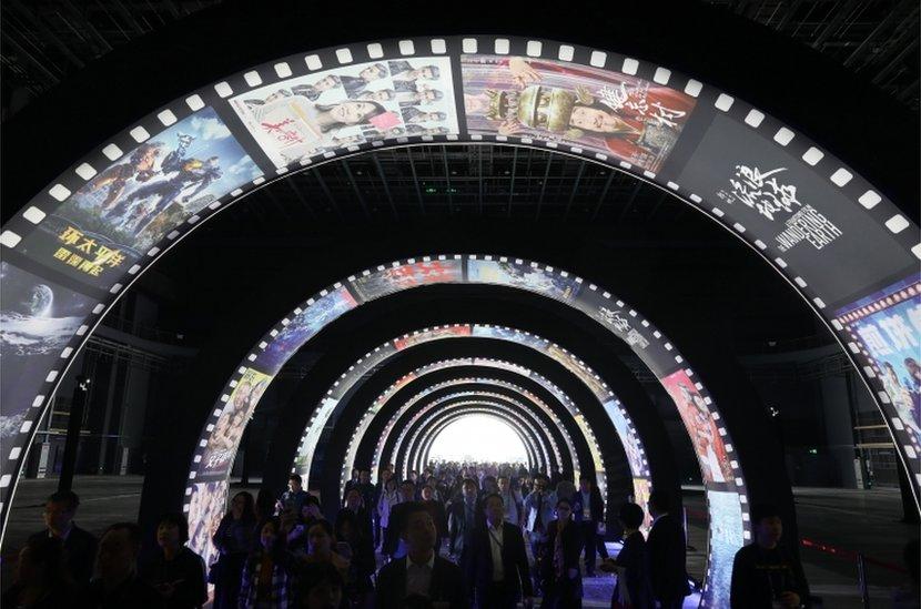 La Metrópolis del Cine Oriental de Wanda.