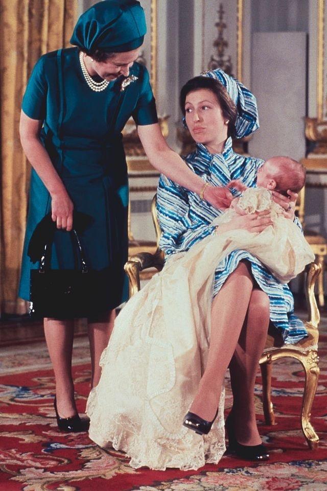 英國女王、安妮公主、彼得·菲利普斯
