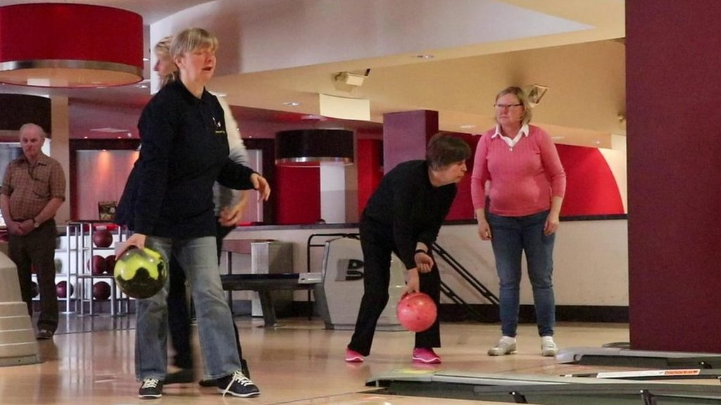 Sunderland Spinners: The ten pin bowling team for the blind