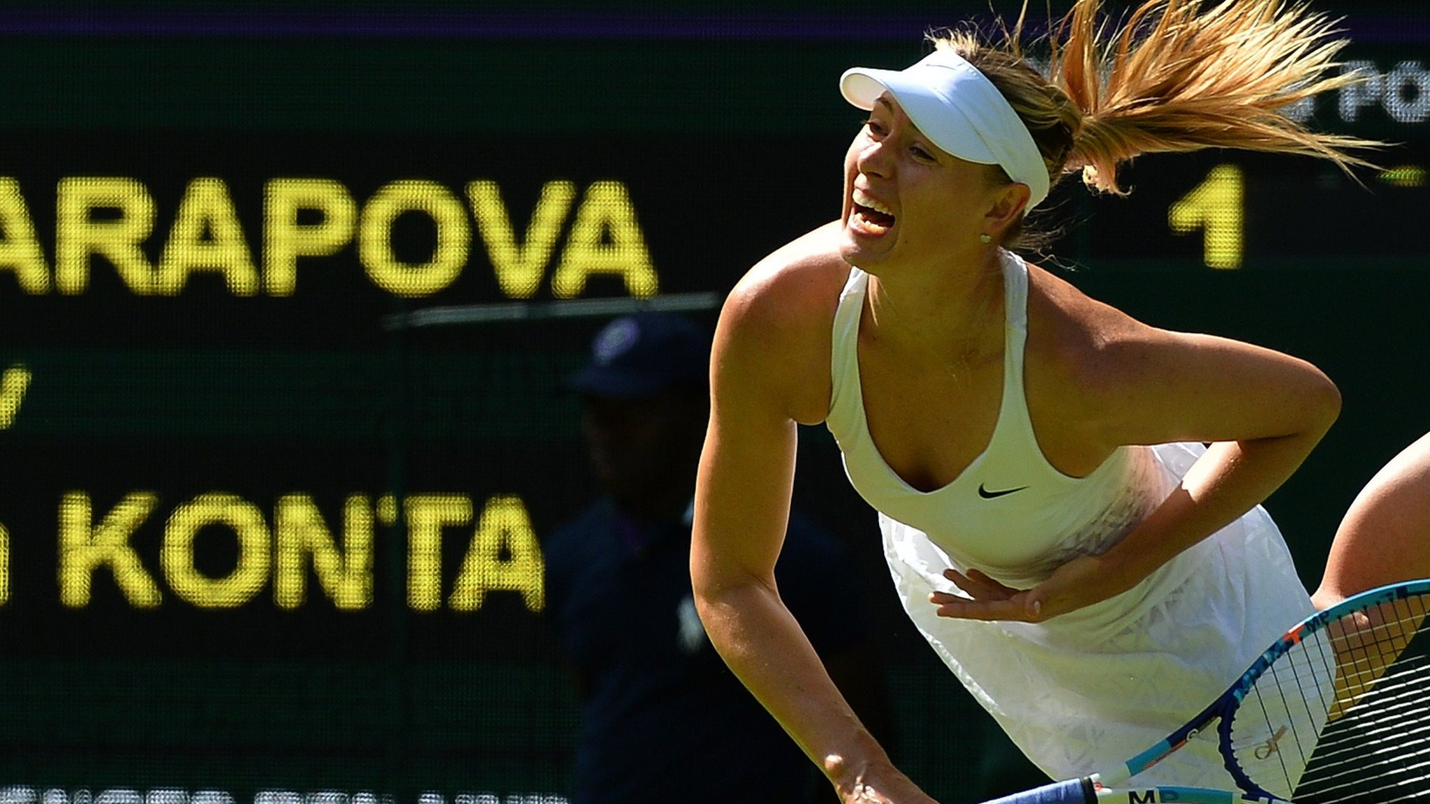 Sharapova to return at Mallorca Open after four months out injured