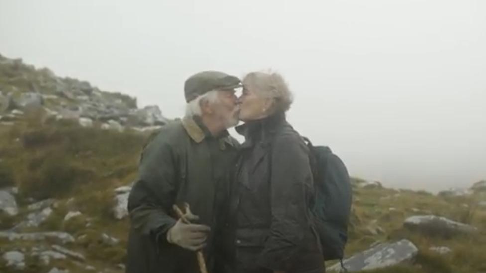 Veteran explorer, 84, who beat Covid-19 tops Cornish peak thumbnail
