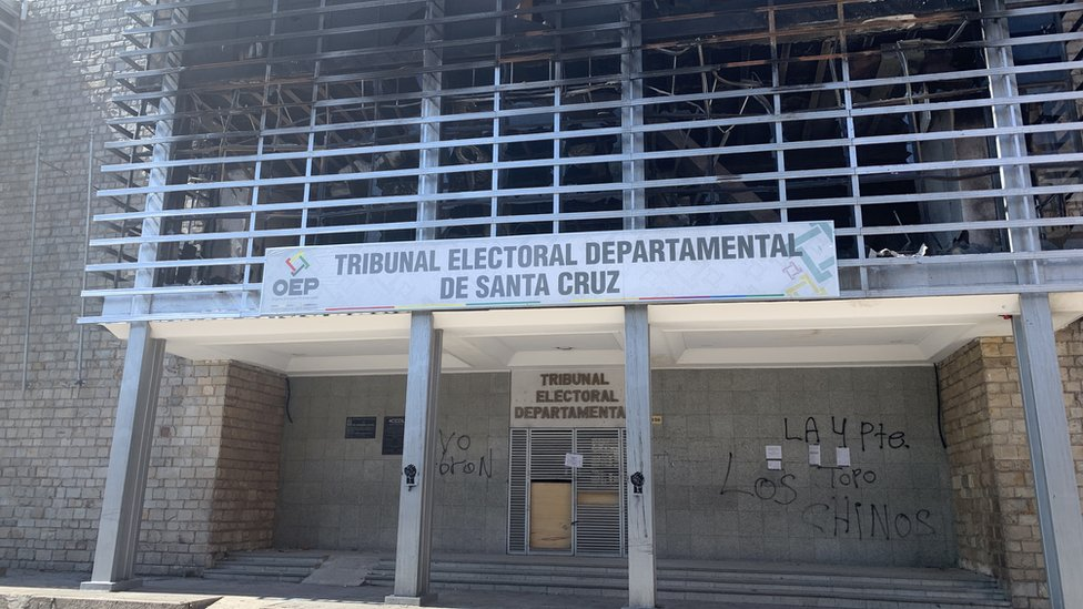 oficina del Tribunal Electoral Departamental de Santa Cruz
