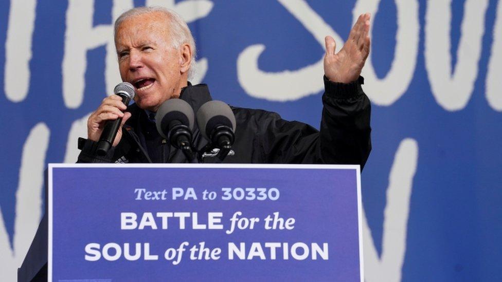Joe Biden in Pennsylvania