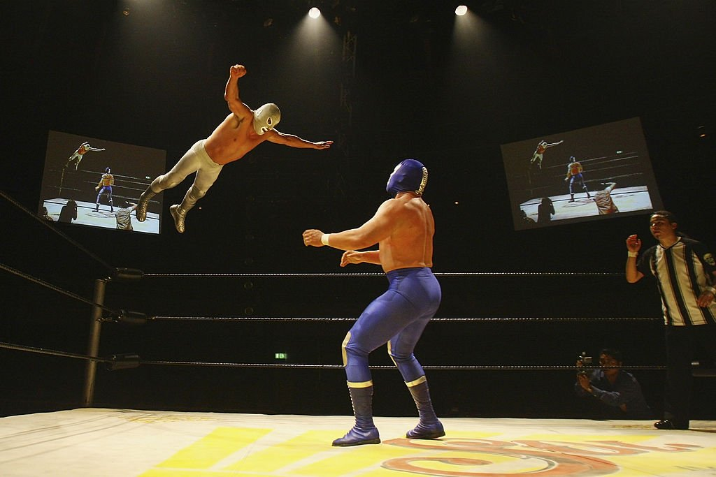 Lucha Libre wrestlers cultivate big personalities and conceal their identities behind masks